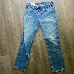 Abercrombie & Fitch Button Fly Jeans